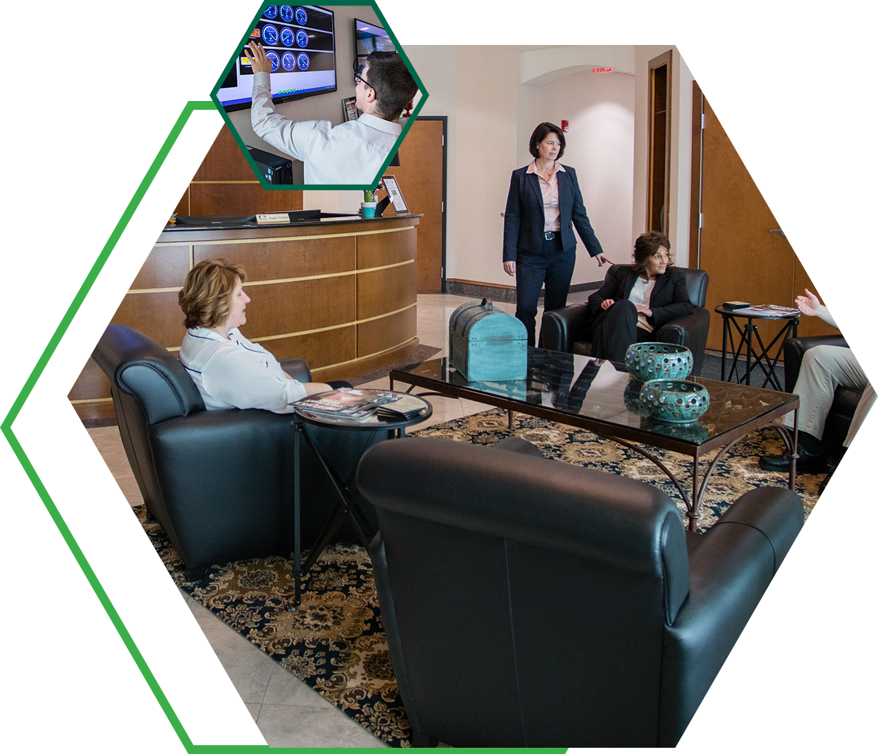 greentree group in lobby